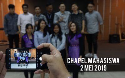 Chapel Mahasiswa 2 Mei 2019